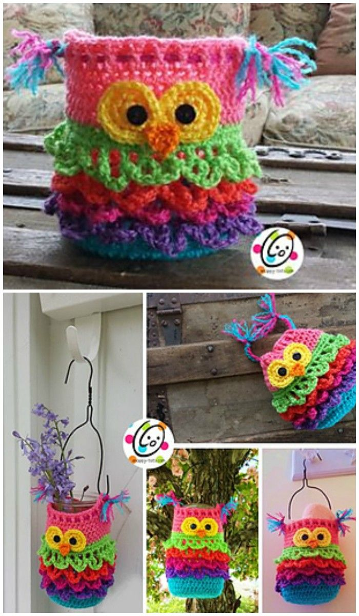 I have ghathered 20 crochet owl patterns-how to crochet owl patterns ...