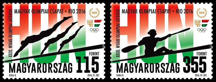 Hungary - 2016 Summer Olympics, Rio (MNH)