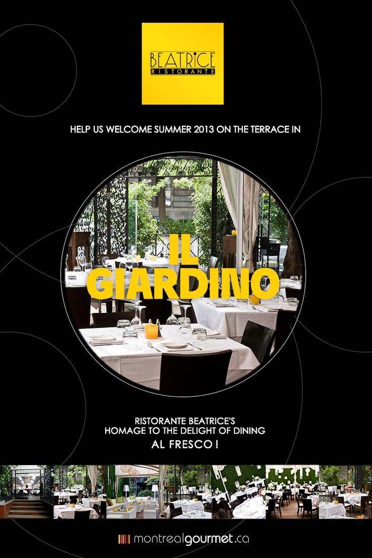 il Giardino,  Montreal's hidden treasure is now open