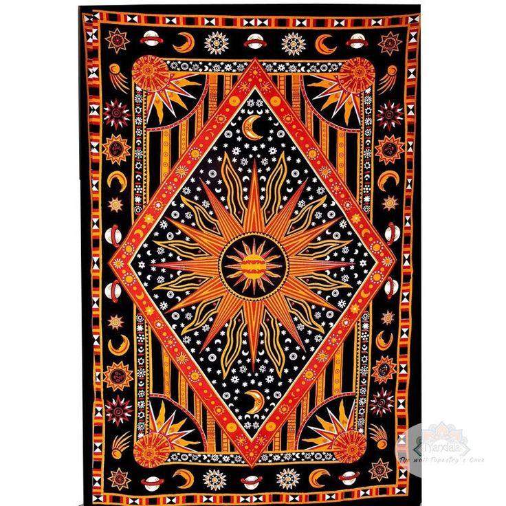 Heavenly mandala wall tapestry - 3 colors