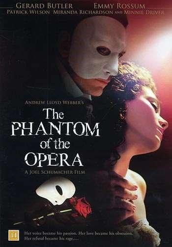 The phantom of the opera [Videoupptagning] = Fantomen på operan / [music] Andrew Lloyd Webber ; directed by Joel Schumacher ; screenplay by Andrew Lloyd Webber & Joel Schumacher ; produced by Andrew Lloyd Webber ... #film #DVD