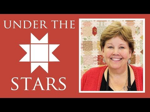 The Under The Stars Quilt Easy Quilting Tutorial With