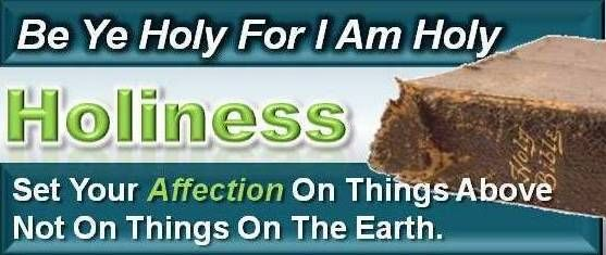 be ye holy for i am holy | holiness a place apart god says be ye holy for