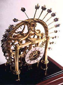 horloge a mouvement perpetuel