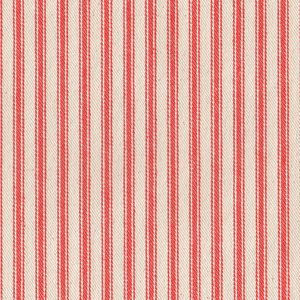 James Thompson House Designer - Ticking Woven Stripes - Ticking Woven Stripes in Orange