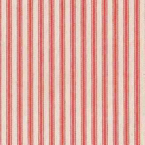 James Thompson House Designer - Ticking Woven Stripes - Ticking Woven Stripes in Orange