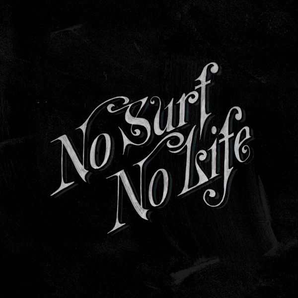 Surf Lettering by Don Juel
