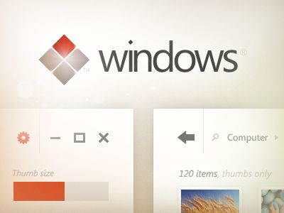 Windows ui concept shot