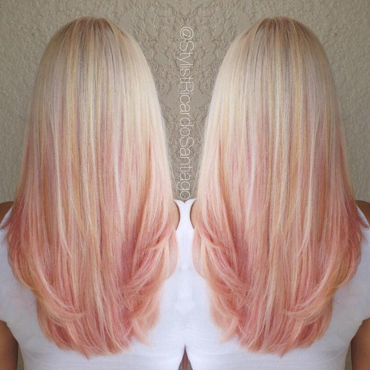 """Strawberry Peach Sherbet  