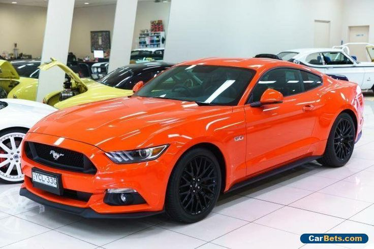 2016 Ford Mustang FM Fastback GT 5.0 V8 Competition Orange Automatic 6sp A #ford #mustang #forsale #australia