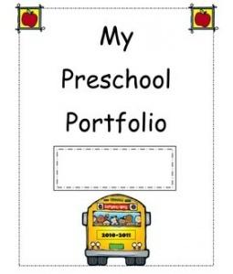My Preschool Portfolio