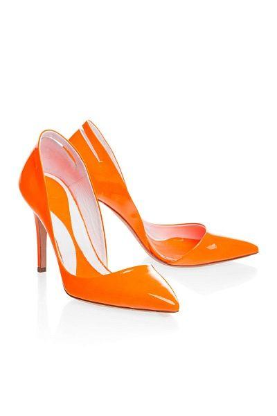 Яркие туфли McQ by Alexander McQueen. #brandintrend