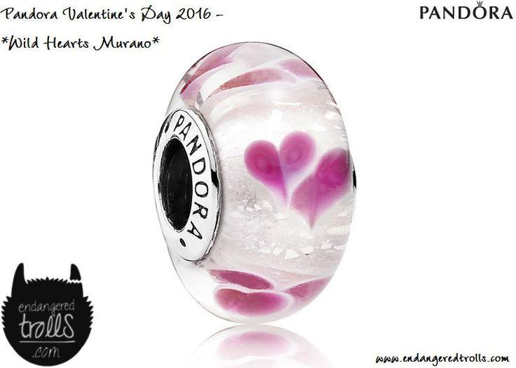 Pandora Wild Hearts Murano
