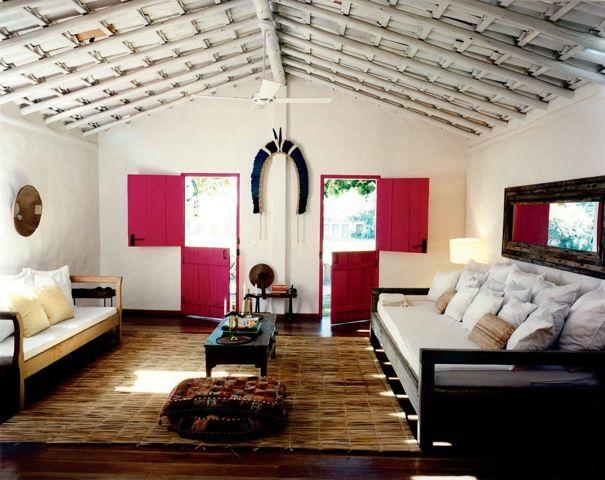 Uxua Casa Hotel Is Located In Trancoso Bahia Brazil A Small Eco Boutique With Stylish Luxury Villas Spa Beach Club Praia