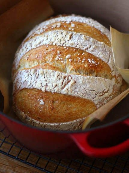Baking Bread in a Dutch Oven! (see post below for winner of the book giveaway!)