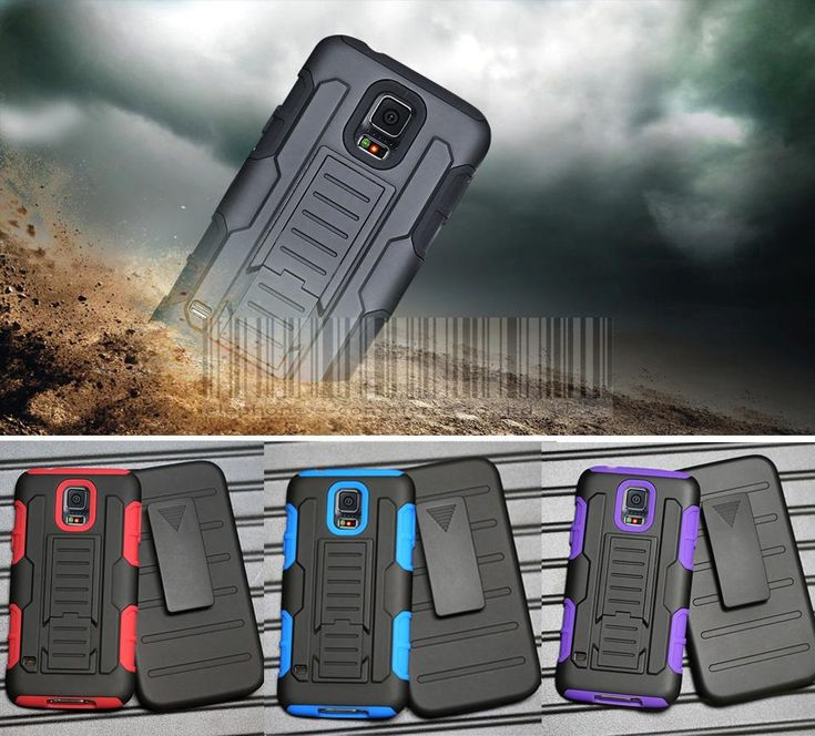 For Samsung Galaxy S5 S V I9600 Case Protective Armor Impact Hard Case Cover With Belt Clip G900 SM-900 //Price: $6.16//     #Gadget