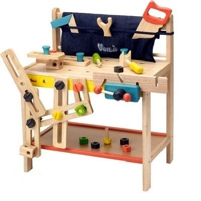 Voila - Tool Work Bench Perfect addition to the playroom, little man will love copying pop with all his tools. #EntropyWishList #PintoWin