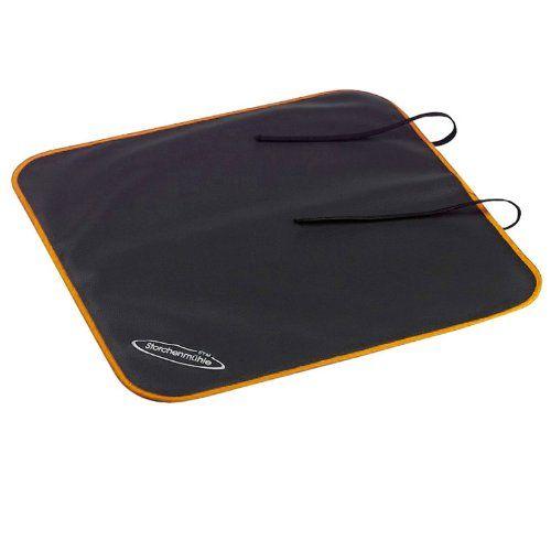 Storchenmühle 3400.10900.00 - Protector para asiento de coche, color negro