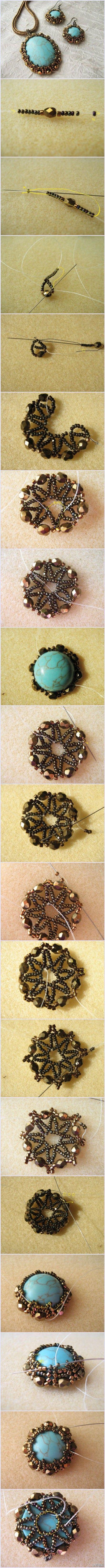 #弧面编织#教你们用另一种方法包裹宝石,不同于珠宝刺绣那么麻烦,嗯…这其实才是平时用到得方法撒~你甚至可以不用包底!都是中间一圈,上下一围。有厚度的宝石最适合这样来镶嵌了~不需要焊接,就和绕线一样,完全用手来进行的工艺。