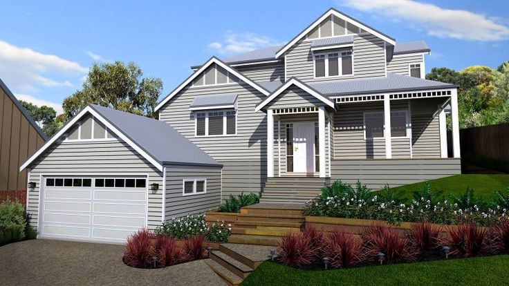 Panorama House Picture of  and two storey design traditional design sloping site design floor plans 4 bedroom