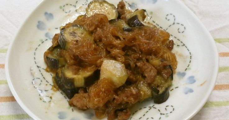 ごはんが進む♡なすと春雨の肉みそ炒め by msft5632 [クックパッド] 簡単おいしいみんなのレシピが269万品