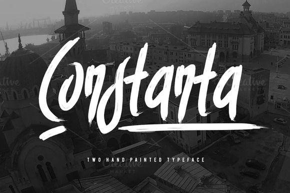 Constanta Typeface by Maulana Creative on Creative Market
