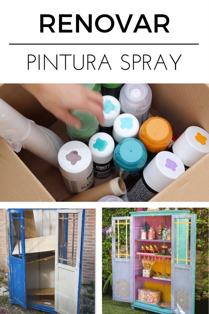 184 best images about creaciones pintyplus diy con - Pintura con spray ...
