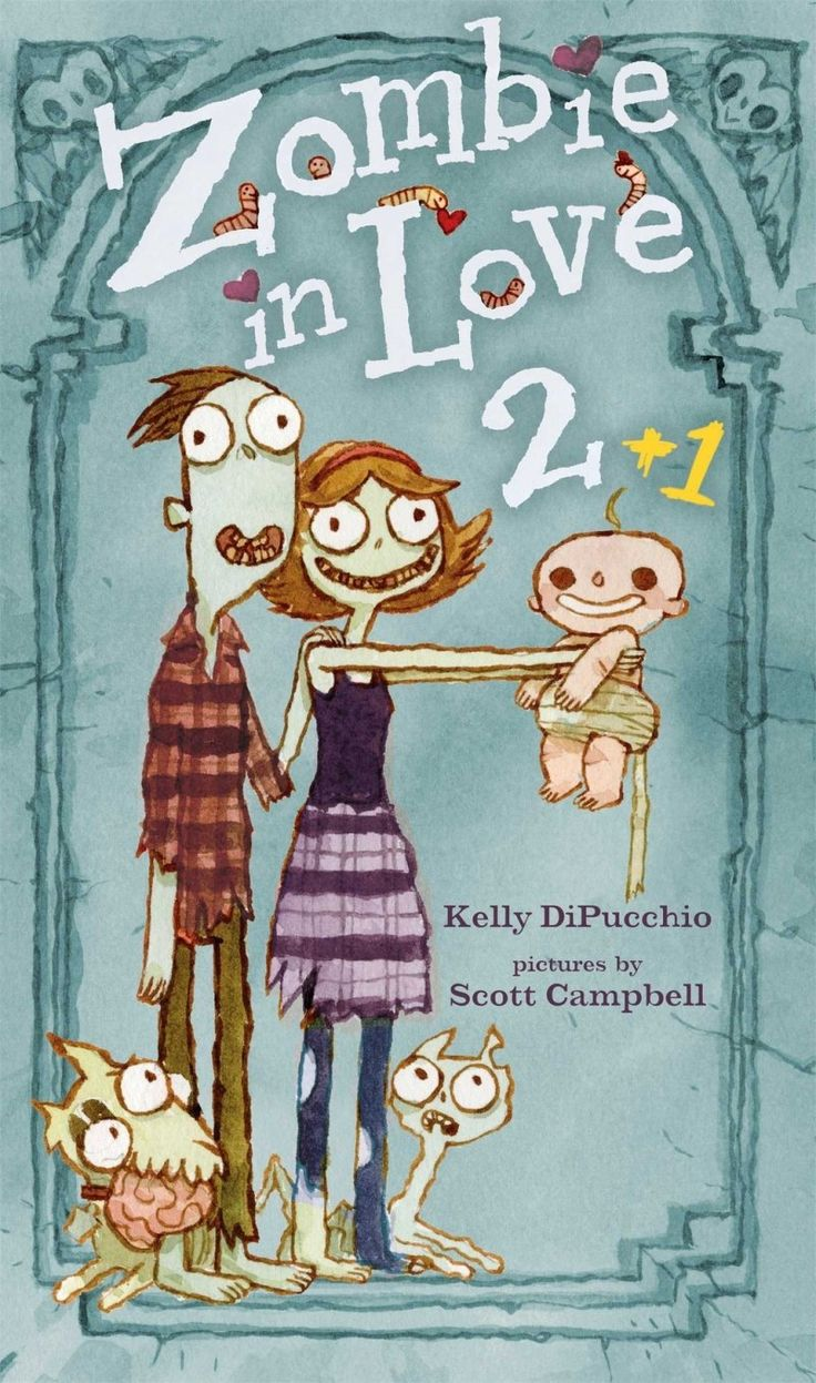 The sequel to Zombies in Love in which our zombie pals become parents to a bouncing, non-dead baby boy. Why are his teeth growing in instead of falling out? It just doesn't make sense!What kind of reader is it for? Anyone who appreciates things that are heartwarming and hair-raising in equal amounts.Release Date: Dec. 30, 2014Preorder here.