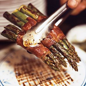 This recipe comes from Nick's Italian Cafe in McMinnville, Oregon, where chef and owner Nick Peirano uses ordinary balsamic vinegar and a pinch of sugar in the syrup accompanies these seared asparagus stalks. Continue...