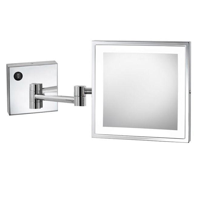 Wall Mounted Lighted Vanity Mirror Led Mam84836 Commercial Grade