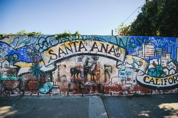27 best we love orange county beaches images on pinterest for Chicano mural art