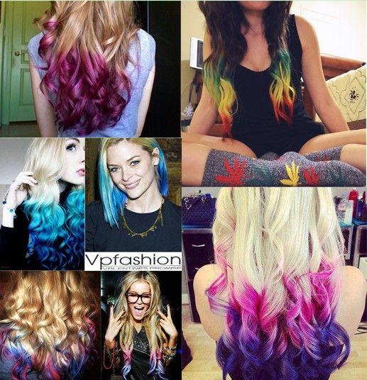 ombre capelli, capelli colorati, la nuova tendenza 2014 dei capelli
