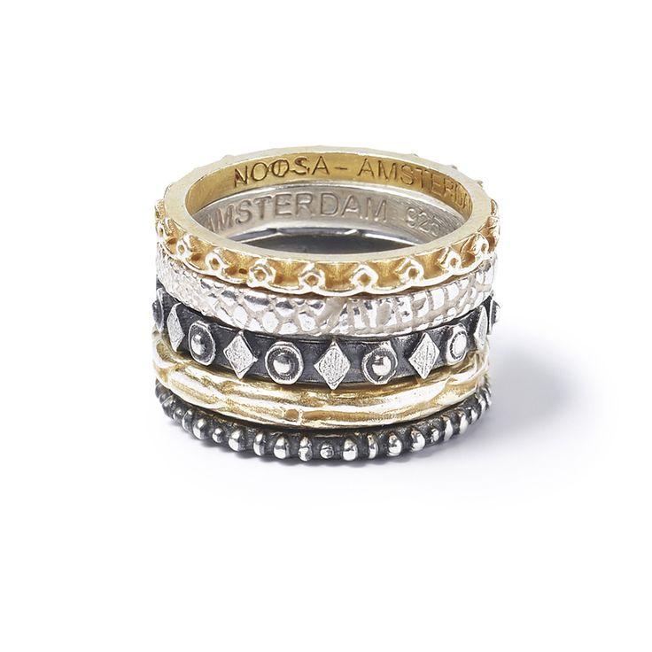 NOOSA Jewellery rings  rings gold silver
