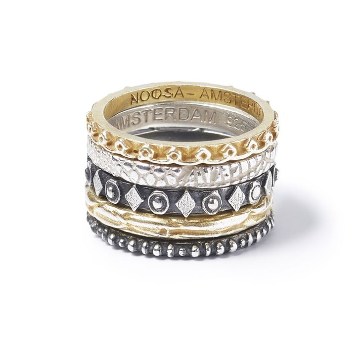 NOOSA Jewellery rings  rings gold silver