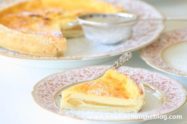 New Kitch On The Blog: Kleine Ausflucht in den Herbst: Elsässer Apfelkuchen