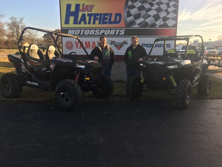 JEFF's new 2017 Polaris RZR S900 EPS! Congratulations and best wishes from Jay Hatfield Motorsports and Kevin Swope.
