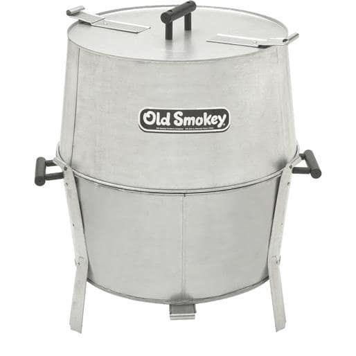 Old Smokey 22 Old Smokey Bbq Grill OS #22 Unit: Each, Silver