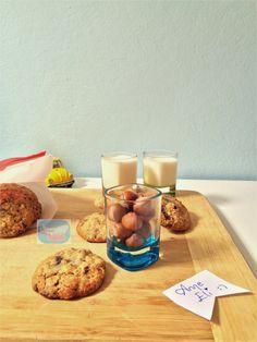 Çikolata Parçalı Kurabiye , Chocolate Chips Cookies , Fındıklı Kurabiye