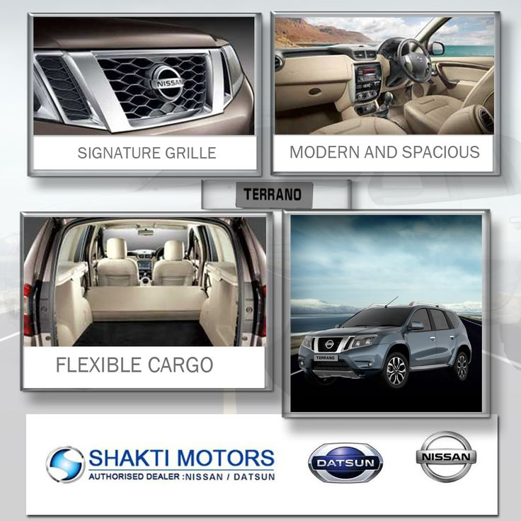 Head Turning #Exteriors & Impressive Premium #Interiors, explore the new #Nissan #Terrano's features, including the Comfort & Convenience Variants. #ShaktiNissan : https://goo.gl/7HpUEv #ShowRoom in #NaviMumbai #MyCar #Drive #NissanCar
