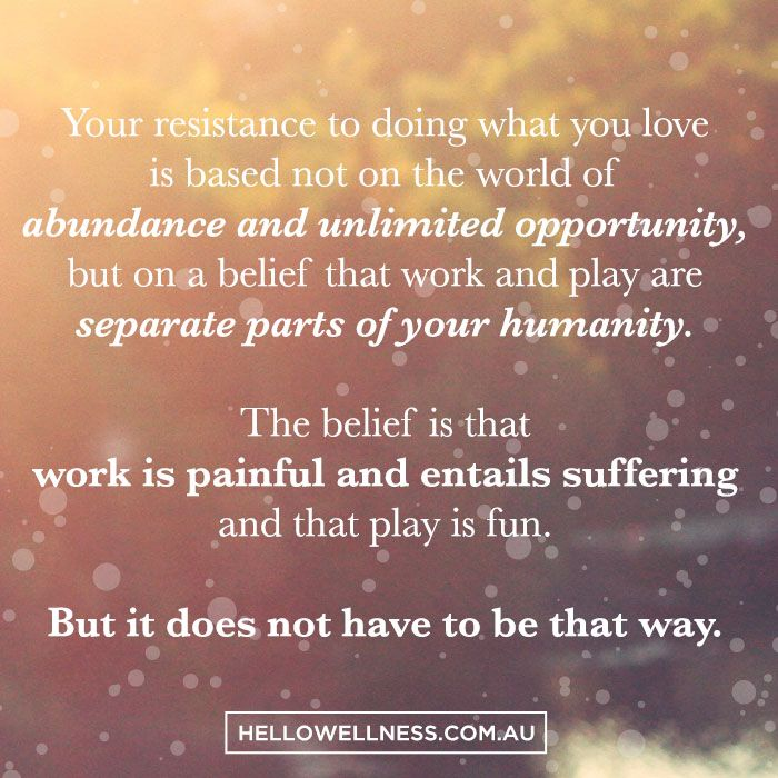 You spend almost a third of your life at work. You have two options: do something you love or learn to love what you do. That's it! #purpose #happiness