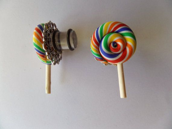 Hey, I found this really awesome Etsy listing at https://www.etsy.com/listing/199441294/lollipop-plugs-lollipop-flesh-plugs