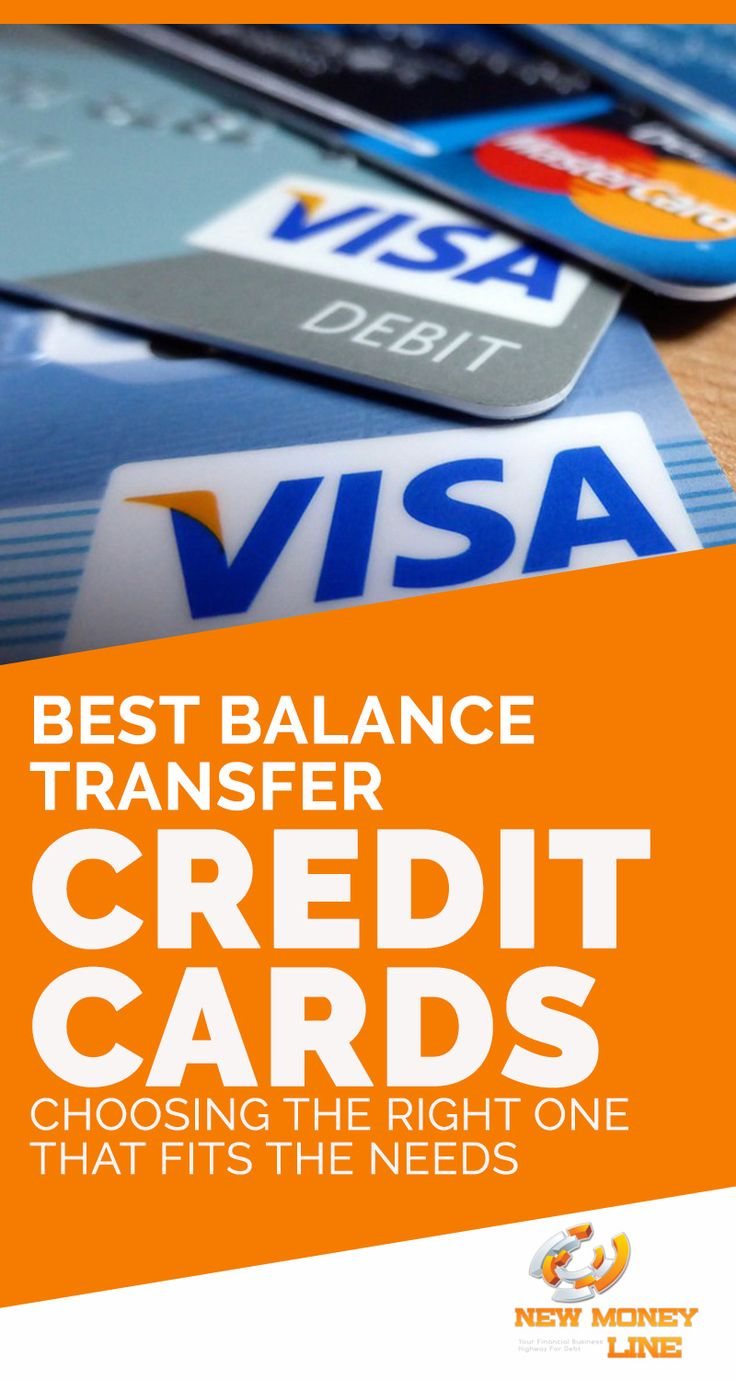 Best balance transfer credit cards choosing the right one