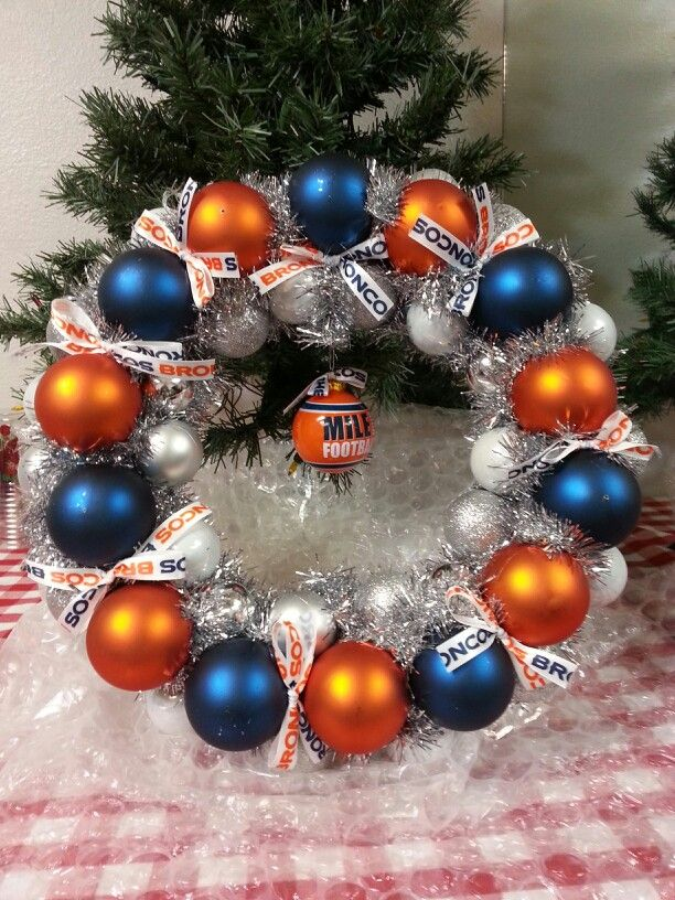 Broncos wreath!