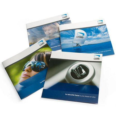 immagini Brochure prodotto Came Cancelli Automatici S.P.A. Progetto grafico: Agenzia Pubblicitaria di Treviso H&P.