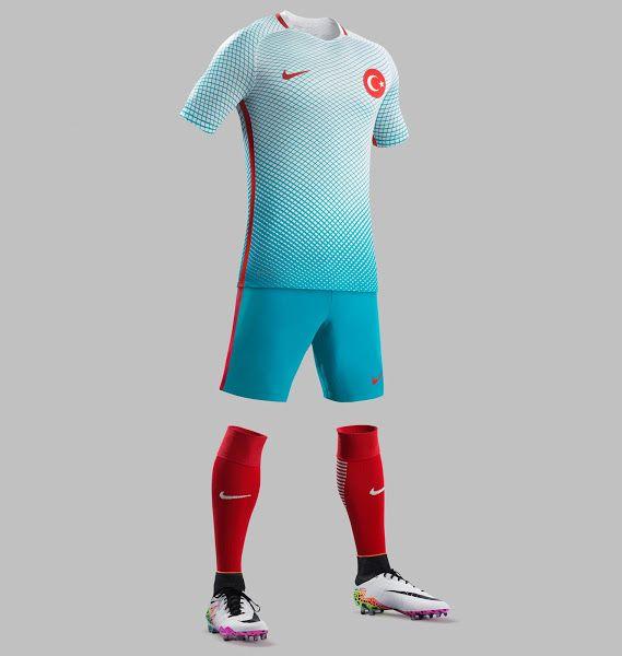 Camisas da Turquia 2016-2017 Nike Eurocopa
