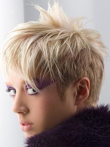 Short Hair Colouring Punk Rock Edgy Short Hairstyles Glam Rock Short Hair