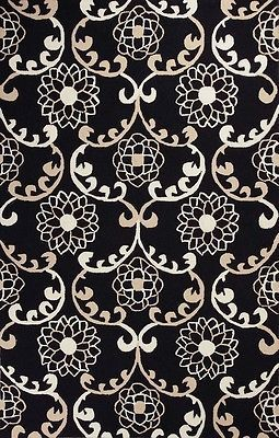 Grab your CLEARANCE Area Rug, Black Geometric Trellis Carpet 3X5 66020 at a great price and enjoy shopping. http://www.ebay.com/itm/CLEARANCE-Area-Rug-Black-Geometric-Trellis-Carpet-3X5-66020-/401052227310 #arearugs