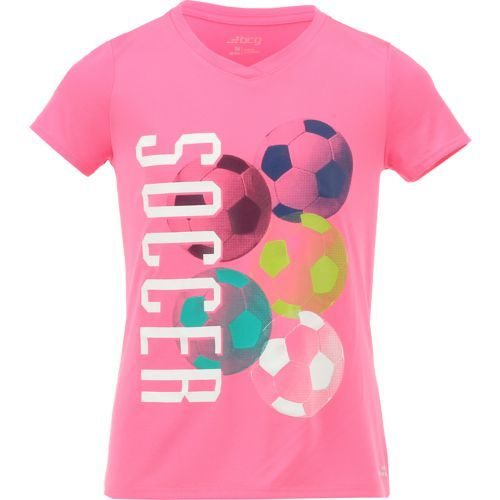 c130cd4c661 BCG Girls' Soccer Graphic T-shirt (Pink Bright 03, Size Medium) - Girl's  Apparel, Girl's Athletic Tops at Academy Sports