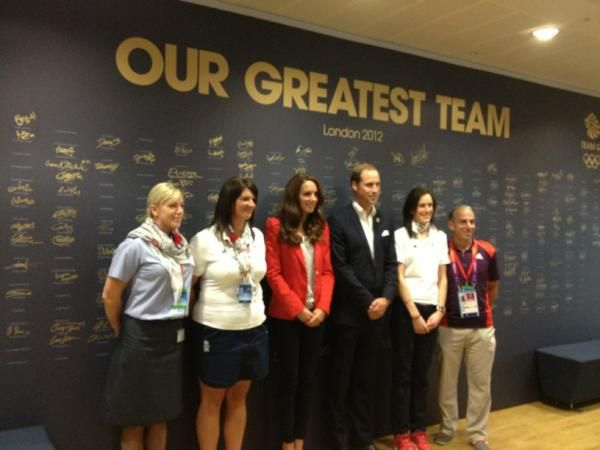 Catherine Watches Hockey, Visits Team GB House + Olympic Interviews