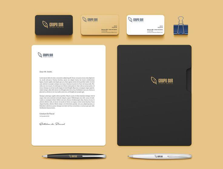 Logo - Grupo Sur - Estudio Jurídico on Behance